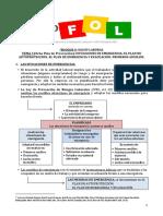 B4. TEMA 3 (ficha Plan de Prevención). Situaciones de emergencia. El plan de autoprotección