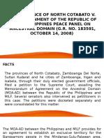 North Cotabato v. GRP