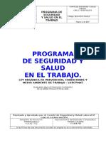 Programa de Seguridad Industrial (Fran Mar, c.a.)