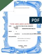 Monografia Politica Publica 2016