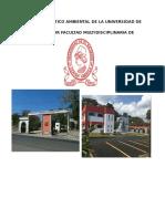 Diagnóstico Ambiental de La Universidad de El Salvador Facultad Multidisciplinaria de Occidente
