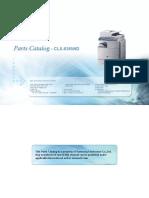 Samsung Parts Catalog CLX-8385ND