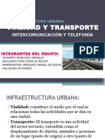 Propuesta, Vialidad y Transporte