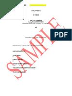 ENSCO Sample Subcontract