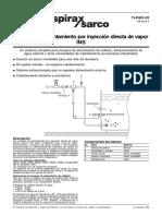 Sistemas de Inyectores de Vapor INS-Hoja Técnica