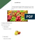 Beneficios y Propiedades de Las Frutas