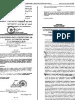 Acta Estatutos Sociales Empresa Mercados de Alimentos C.a. - MERCAL