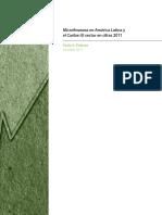Microfinanzas en América Latina y El Caribe- El Sector en Cifras 2011