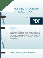 El Rol Del Psicologo Educativo