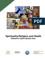 Spirituality Report