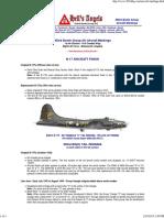 B-17 Hells Angels Aircraft Markings