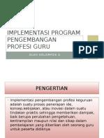 Bab 14 Implementasi Program Pengembangan Profesi Guru