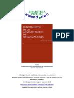 LIBRO - FUNDAMENTOS DE LA ADMINISTRACION DE ORGANIZACIONES.pdf