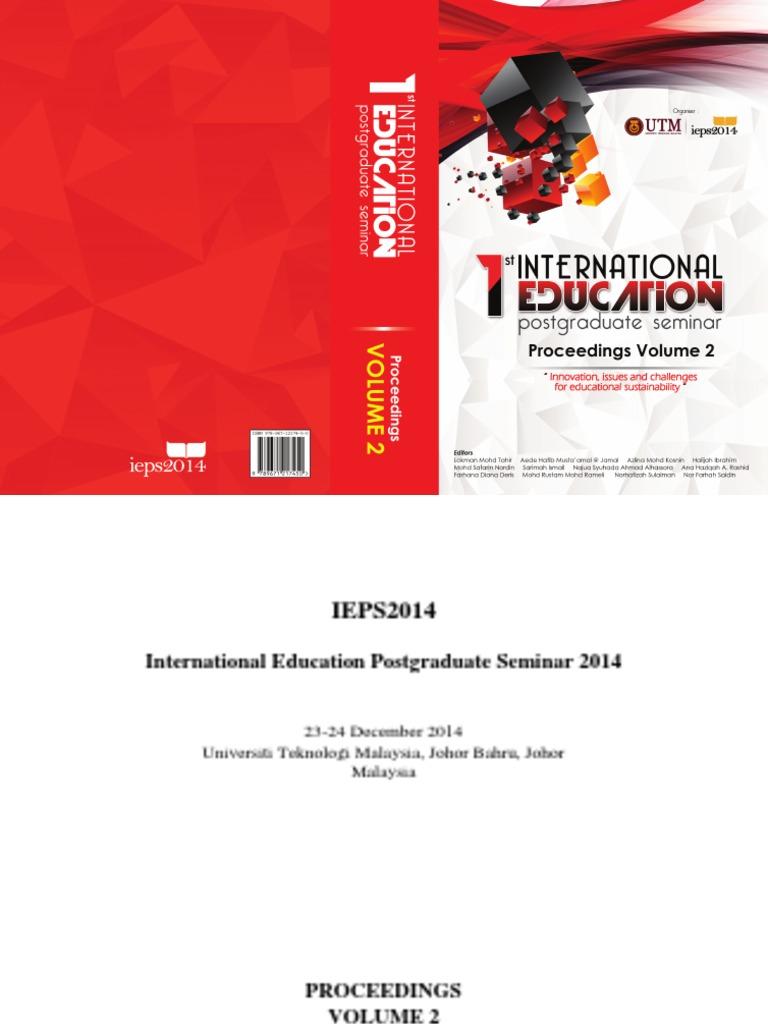 ieps2014proceedingsvol2 pdf educational assessment english as aieps2014proceedingsvol2 pdf educational assessment english as a second or foreign language