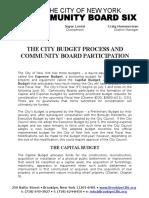 CB6 - Budget Priorities - FY 2018