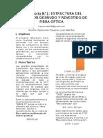 1er informe laboratorio de comunicacion opticas INICTEL
