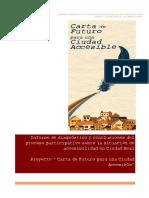 Informe Carta de Futuro Ciudad Accesible