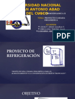 Proyecto Camara Frigorifica