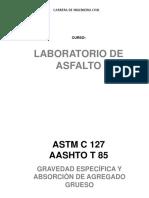 Laboratorio de Asfalto Según Normas Internacionales