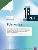 18 Polynomials