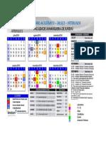 Calendario Academico - Acionamentos