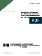 Criadero Industrial de Truchas en Coina Otuzco- Uni1969