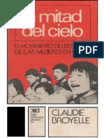 La Mitad Del Cielo - Claudie Broyelle (1973)