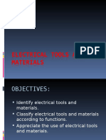 Electrical Tools and Materials
