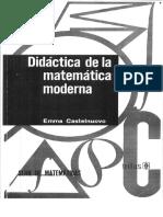 Didáctica de La Matemática Moderna- Emma Castelnuovo