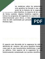 Relación Eugenesia y Bioética