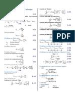 Formulario Mecanica de fluidos