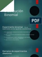 Distribución Binomial