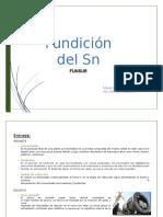 Fundición Del Sn , Tarea #2