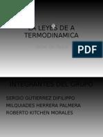 La Leyes de a Termodinamica