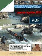 Monthly Individual Report - P3MD - Stephanus Mulyadi - TA PSD Kapuas Hulu-August 2016
