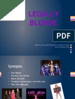 Legally Blonde Presentation