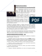 Conhecimentos Gerais e Atualidades - Arqueologia Brasil
