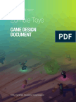 Zombie Toys Game Design Document