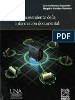 Procesamiento de la información documental. Alice Miranda Arguedas; Magally Morales Ramírez