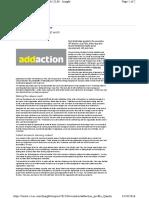 Addaction Profile