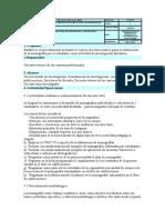 Instructivo Para La Investigacion Formativa
