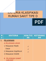 KRITERIA KLASIFIKASI RUMAH SAKIT TIPE D.pptx