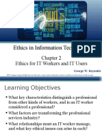 Reynolds PPT Ch02 Ethics for IT Workers and IT Users