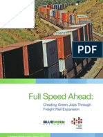 Full Speed Ahead Freight Trains for a Green Economy