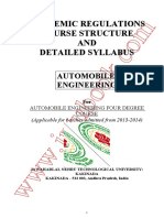 Automobile Engg Syllabus