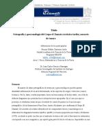 Petrografía y Geocronología del Grupo El Chanate del Noroeste de Sonora