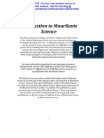 Muurroots-science (Updated Mar 2014)