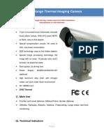 SHR-HTIR185 Long Range Thermal Imaging Camera