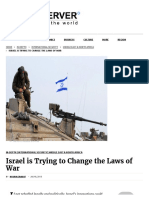 Israel is Trying to Change the Laws of War - Fair Observer
