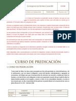 Clase 1 - Curso de Predicacin